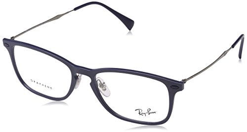 Ray-Ban Unisex 0RX8953 Light Blue Graphene One Size (Ray Ban Eyeglasses Made In Italy)