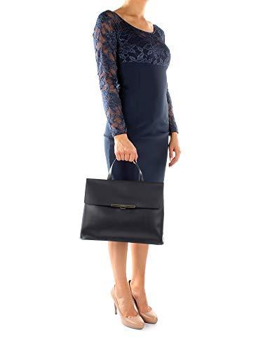 Lancaster Cuir à Bleu 47333 Femme main Sacs rvqIr