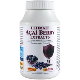 Ultimate Açai Berry Extracts 180 Capsules