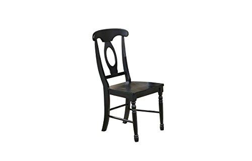 Ebony Side Chair - 1