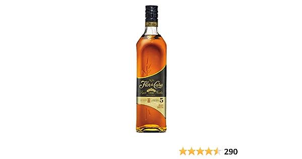 Ron Flor de Caña 5 Años Añejo clasico - 1 botella de 70 cl ...