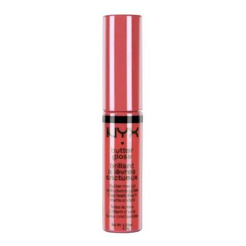 NYX Professional Makeup Butter Gloss, Peach Cobbler, 0.27 Fl