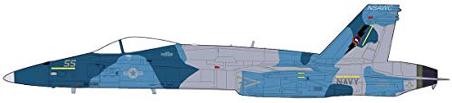 Mcdonnell Douglas F/A-18A Hornet, USN NSAWC, 55, NAS Fallon, NV, 2004, 1/72 Scale Die Cast Model HA3544 Hobby Master