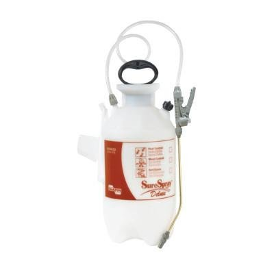 Surespray 2 Gallon Poly Sprayer (Chapin SureSpray Poly Sprayer, 2 gal, 12 in Extension, with Anti-Clog Filter)