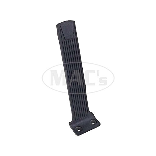 MACs Auto Parts 42-29980 Accelerator Pedal, Molded Rubber Over Metal