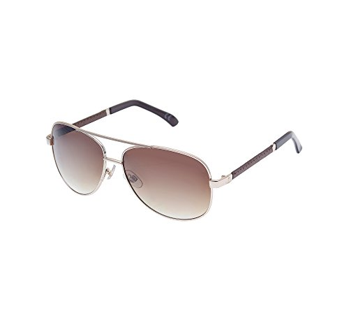 Paradise Collection Paradise Leather Trim Aviator - Collection Sunglasses Paradise