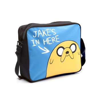 Adventure Time MB140311ADV Jake's in Here Messenger Bag