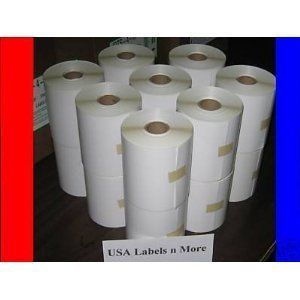 20 Rolls of 500 4x3 Direct Thermal Labels Zebra 2844