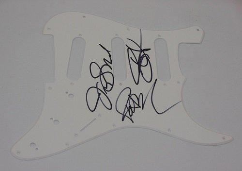 Train Drops of Jupiter Band Group Signed Autographed Fender Strat Electric Guitar Pickguard Loa