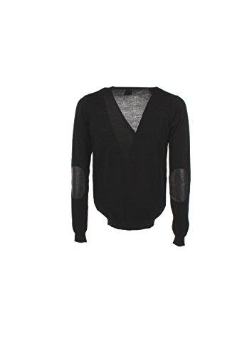 Cardigan Uomo Kaos XL Nero Fi2nt003 Autunno Inverno 2016/17