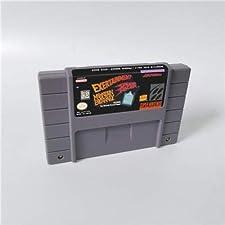 Game card - Game Cartridge 16 Bit SNES , Game Exertainment Mountain Bike Rally - RPG Game Card US Version English Language