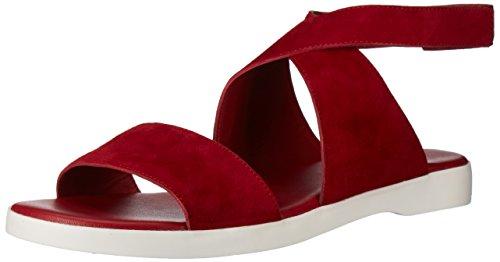 Via Spiga Women's Jordan Sport Sandal, Rich Poppy Suede, 9.5 Medium US by Via Spiga