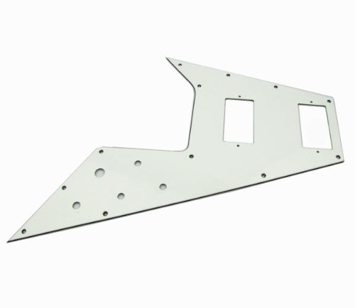 IKN Flying V Style Guitar Pickguard Scratch Plate for Gibson Style Guitar iknmusic FD-68