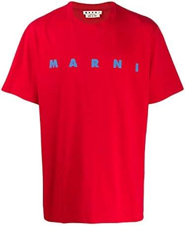 Marni Fashion Man HUMU0143P0S2276300R69 Red Cotton T-Shirt | Spring Summer 20