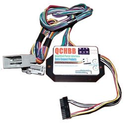 Quickconnect QCHBCH3 QCHBB-H3 Amplified Harness for 08-09 Accord and 09 Pilot (Black)