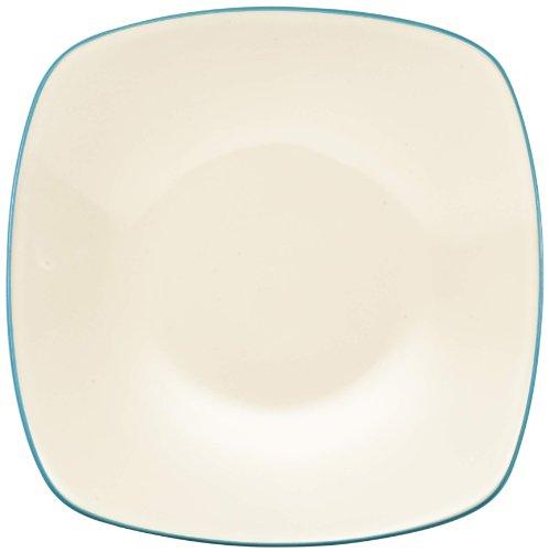 Noritake Colorwave Square Salad/Dessert Plate, 8-1/4-Inch, Turquoise