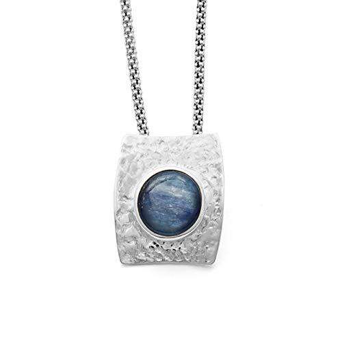 Anhä nger 'Wasserblau' rhodiniert 925er Silber DUR Schmuck P2969
