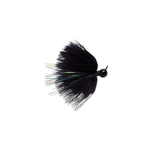 VMC DM Marabou Jigs (Black, 43473)