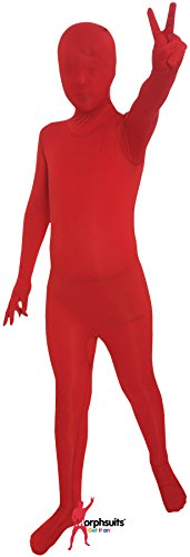 Morphsuits Red Original Kids Costume - Size Large 4'-4'6 (120cm-137cm)]()
