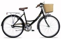 Barracuda - Bicicleta de paseo (con cesta, para mujer, Trekking ...