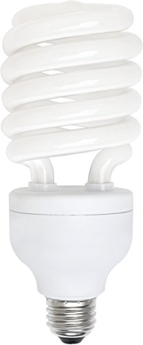 Luxrite LR20210 (1-Pack) 42-Watt CFL T3 Spiral Light Bulb, Equivalent To 200W (Warm White Cfl)