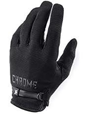 Chrome Full Finger Cycling Gloves - Lightweight Bike Gloves