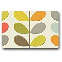 Custom Orla Kiely Door Mat Machine-Washable Outdoor/Indoor Doormat