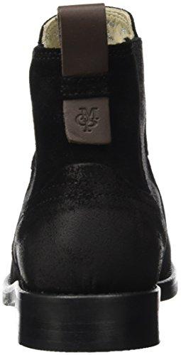 black Chelsea Mujer Heel Flat Schwarz 70814225001304 Botas Para O'polo Marc qUwzBxaw