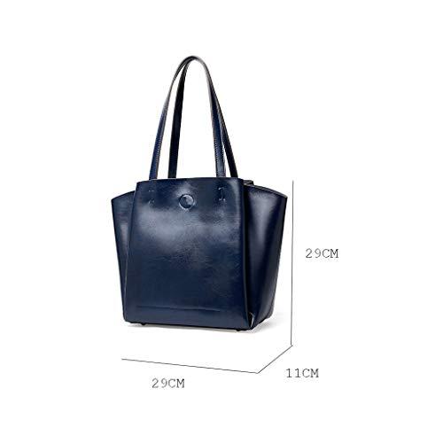 sac paquet capacité Sac Black mode dames bandoulière de à Amérique sacs à main grande de diagonal et PU Europe de F7wpAqF