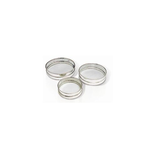 Matfer Bourgeat 115020 Stainless Steel Mesh Sieves, Set of 3, 7