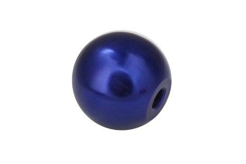 Torque Solution Fits Toyota Supra Manual Billet Blue Round Shift KNOB Fits 12X1.25 1982 82-2002 02 ()
