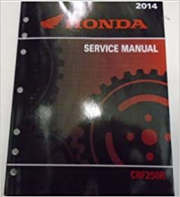 2014 HONDA CRF250R CRF 250R Service Repair Shop Manual