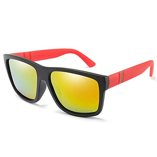 Yangjing-hl Gafas de Sol polarizadas para Hombres Gafas de ...