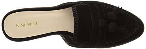 Nine West Women's Vesuvio Suede Mule Black jC14rTB