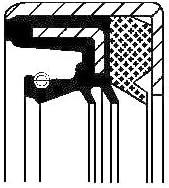 CORTECO 07019089B Wellendichtring Differential