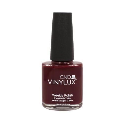 106CND Vinylux Bloodline hebdomadaire polonais Creative Nail Manucure Coloré Rouge Profond