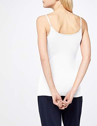 Para white Blanco 100 Mangas Sin Esprit Camiseta Mujer OntWaqPOTw