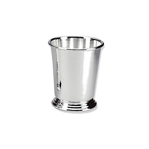 Goldia Silver-plated Mint Julep Cup - Engravable Personalized Gift Item, NEW by Goldia