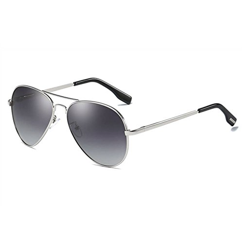 polarizadas UV400 de Coolsir lentes de las protección Marco Gafas de gafas sol de gafas 4 moda unisex metal C0txn7wq