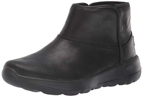 Skechers Women's ON-The-GO Joy 15504 Chukka Boot, Black, 11 M US (Best Chelsea Boots 2019)