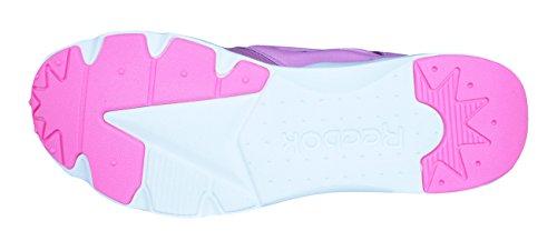 De Zapatillas Reebok Wht Solar Deporte icono Para Furylite Blanco Rosa Pink Niñas Ep1qwA