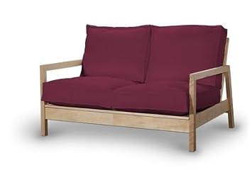 Bezug Für Ikea Lillberg 2er Sofa München Saustark Design Von Weinrot