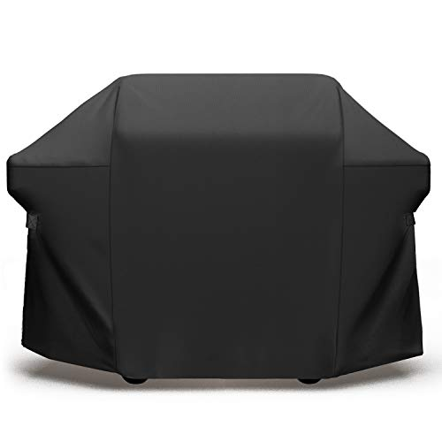 SHINESTAR 60-Inches Grill Cover for Dyna Glo 5-Burner, Kenmore 4-Burner, Brinkmann 4-Burner Gas Grill – Heavy Duty Waterproof Grill Cover