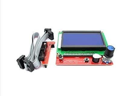 Generic RAMPS 1.4 LCD 12864 LCD 3D printer smart controller control panel blue screen
