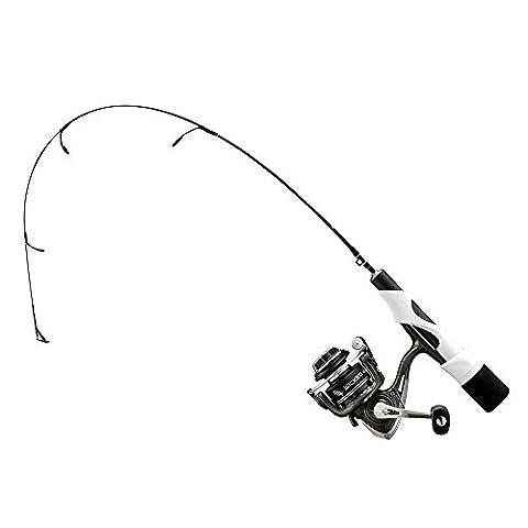 13 Fishing Wicked Long Stem Ice Ultra Light Combo, 2', Black - 13 Stems