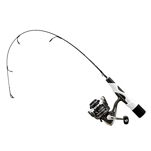 13 Fishing Wicked Ice Medium Light Combo, 2.2', Black