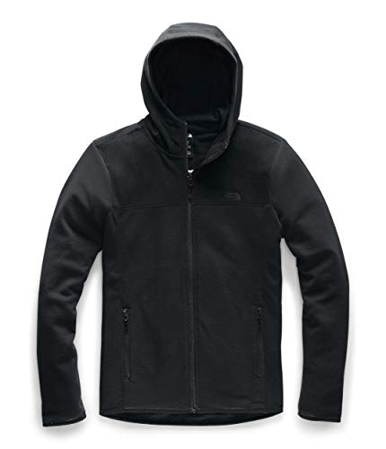 The North Face Women's TKA Glacier Full Zip Hoodie, TNF Black/TNF Black, S (Womens North Face Fleeces)