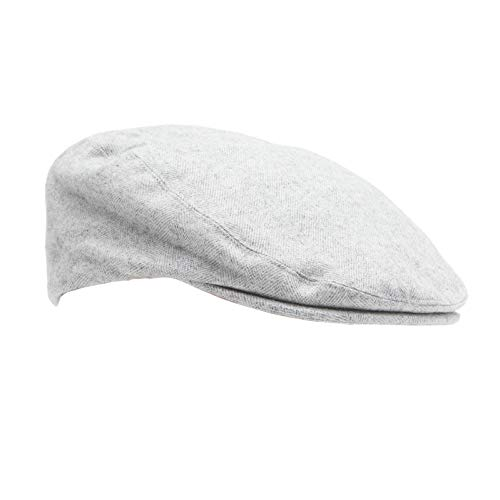 Levi's Men's Ivy Newsboy Hat, Grey Casual, Small/Medium