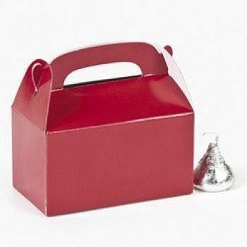 Mini Red Treat Boxes (2 Dozen) - Bulk by Fun Express]()