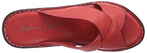 Andrea Red Conti 0799224002 Women's 021 Rot Clogs Rot rqwTrnBp